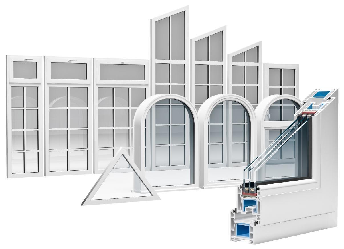 Fen tre en pvc estrie pvc mat riaux de construction for Fournisseur fenetre pvc