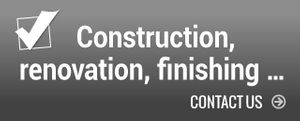 Construction, renovation, finishing - contact us
