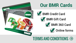 BMR Credit Cards, BMR Gift Card, BMR 360 Card, Form